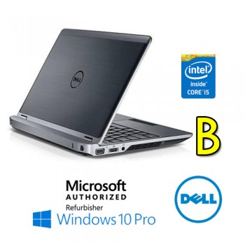 Notebook Dell Latitude E6230 Core i5-3340M 2.7GHz 4Gb 500Gb 12.5' WEBCAM Windows 10 Pro [GRADE B]