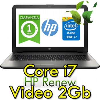 Notebook HP 15-ay110nl Core i7-7500U 12Gb 1Tb 15.6' HD BV LED AMD R7 M1-70 2GB Windows 10 HOME