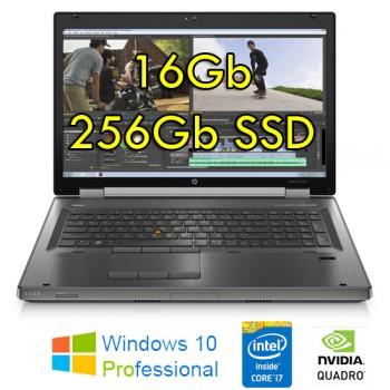 Workstation HP EliteBook 8570w Core i7-3740QM 16Gb 256Gb SSD 15.6' QUADRO K2000 2Gb Windows 10 Professional