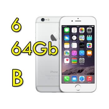 Apple iPhone 6 64Gb White Silver MG4H2ZD/A Argento 4.7' Originale iOS 11 [GRADE B]