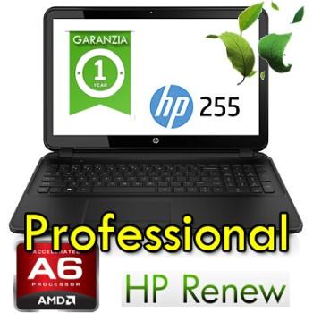 Notebook HP ProBook 255 G5 A6-7310 8Gb Ram 256Gb SSD 15.6' AG LED DVDRW Webcam Windows 10 Pro Y7Z79ES