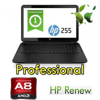 Notebook HP ProBook 255 G5 A8-7410 8Gb Ram 256Gb SSD 15.6' FHD DVDRW Webcam Windows 10 Pro Y7Z79ES