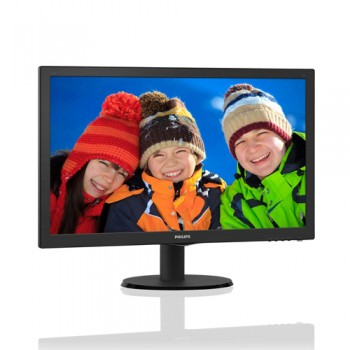 Monitor PC LCD 22 Pollici Philips 220S4L Wide VGA DVI BLACK