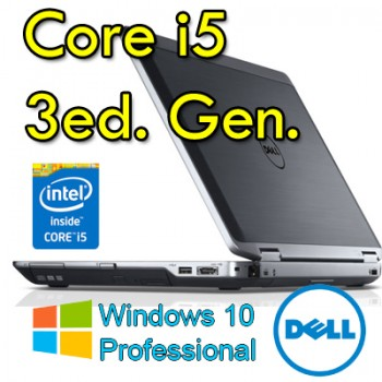 Notebook Dell Latitude E6330 Core i5-3360M 4Gb Ram 320Gb 13.3' Webcam Windows 10 Professional