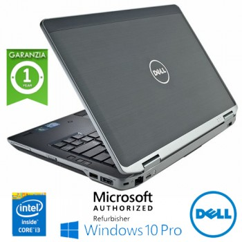 Notebook Dell Latitude E6330 Core i3-3120M 4Gb Ram 320Gb 13.3' Webcam Windows 10 Professional