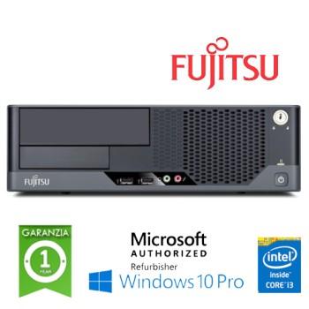PC Fujitsu Esprimo E9900 Core i3-530 2.95GHz 4Gb Ram 250Gb no ODD SERIALE Windows 10 Professional