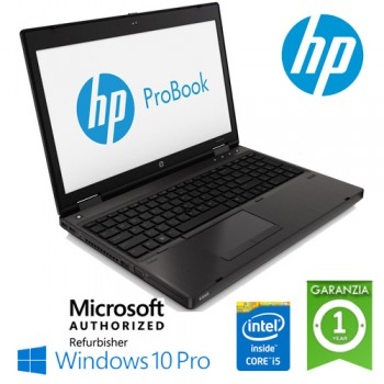 Notebook HP ProBook 6470b Core i5-3340M 2.7GHz 4Gb 320Gb 14' HD LED DVDRW WBCAM Windows 10 Professional