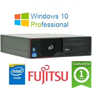 PC Fujitsu Esprimo E510 Intel G-540 2.5GHZ 4Gb Ram 500Gb DVDRW Windows 10 Professional