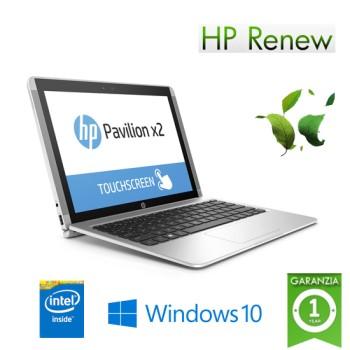 Notebook HP x2 Detachable 10-p033nl Renew Atom x5-Z8350 4Gb 64Gb SSD 10.1' WXGA BV LED Windows 10 HOME