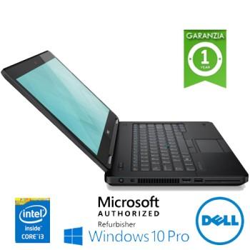 Notebook Dell Latitude E5470 Core i3-6100U 8Gb 500Gb 14.1' DVDRW WEBCAM Windows 10 Professional
