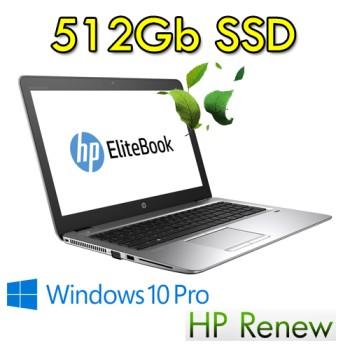 HP EliteBook 1030 G1 m5-6Y54 8Gb Ram 512Gb SSD 13.3' Windows 10 Professional