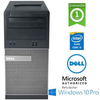 PC Dell Optiplex 3020 MT Core i3-4130 3.4GHz 4Gb Ram 500Gb DVDRW Windows 10 Professional TOWER