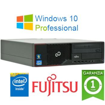 PC Fujitsu Esprimo E510 Intel G2020 2.9GHZ 4Gb Ram 500Gb DVDRW Windows 10 Professional