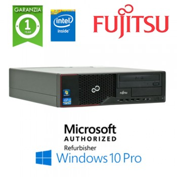 PC Fujitsu Esprimo E510 Intel G640 2.8GHZ 4Gb Ram 250Gb DVD-RW Windows 10 Professional