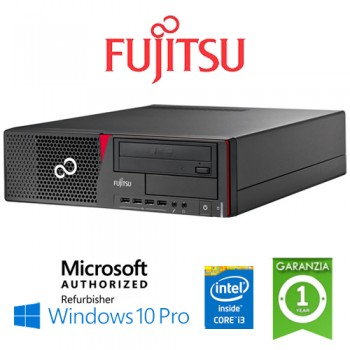 PC Fujitsu Esprimo E710 Core i5-3470 3.2GHz 4Gb Ram 500Gb DVD Windows 10 Professional