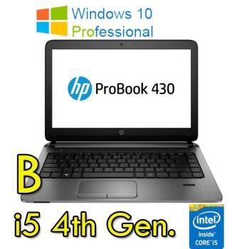 Notebook HP ProBook 430 G1 Core i5-4200U 1.6GHz 4Gb 500Gb 13.3' HD LED Windows 10 Professional [GRADE B]