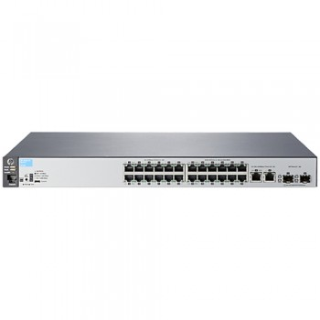 Switch 24 Porte HP ProCurve 2530-24 Managed network switch L2 Fast Ethernet (10/100) 1U Grigio J9782A