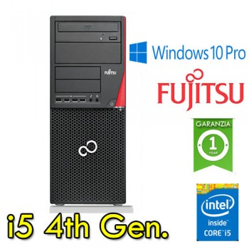 PC Fujitsu ESPRIMO P720 i5-4570 3.2GHz 8Gb Ram 1Tb DVDRW Windows 10 Professional TOWER