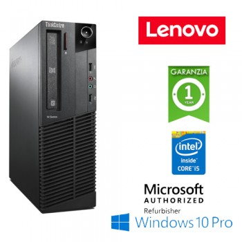 PC Lenovo Thinkcentre M93p Core i5-4570 3.2GHz 4Gb Ram 500Gb DVD-RW Windows 10 Professional SFF