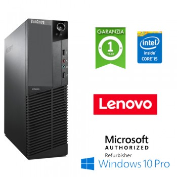 PC Lenovo ThinkCenter M92p Core i5-3470 3.2GHz 4Gb Ram 500Gb Windows 10 Professional DESKTOP NO DVD