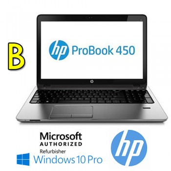 Notebook HP ProBook 450 G2 Core  i3-4030U 1.9GHz 4Gb 500Gb 15.6' HD LED DVD-RW  Windows 10 Pro [GRADE B]