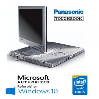 Notebook Panasonic Toughbook CF-C1 Core i5-2520M 4Gb 500Gb 12.1' Touchscreen Windows 10 HOME