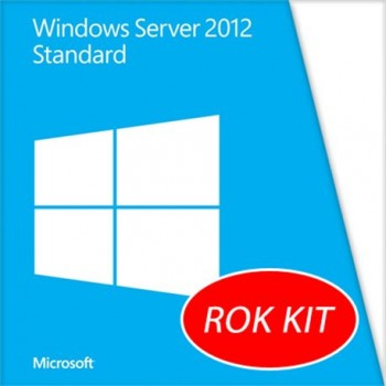 Windows Server 2012 Standard per SERVER IBM LENOVO Rok Kit 2CPU/2VM