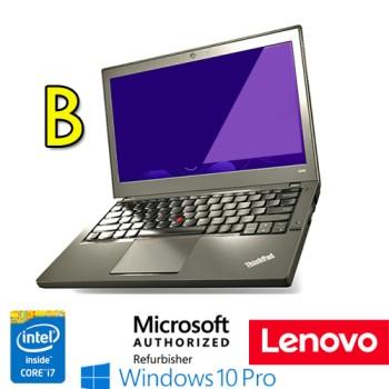 Notebook Lenovo Thinkpad X240 Core  i7-4600U 8Gb 256Gb SSD 12.5' WEBCAM Windows 10 Professional [GRADE B]