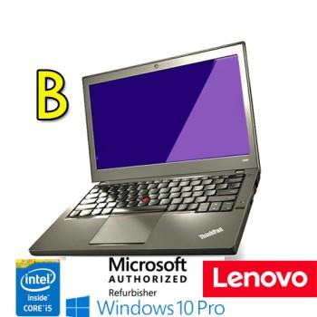 Notebook Lenovo Thinkpad X240 Core i5-4300U 4Gb 180Gb SSD 12.5' Windows 10 Professional [GRADE B]