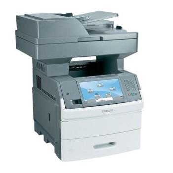 Lexmark X654DE Stampante multifunzione copie Fax Scanner Lan Fronte Retro