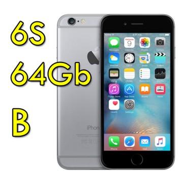 iPhone 6S 64Gb SpaceGray MKQN2ZD/A Grigio Siderale 4G Wifi Bluetooth 4.7' 12MP Originale [GRADE B]