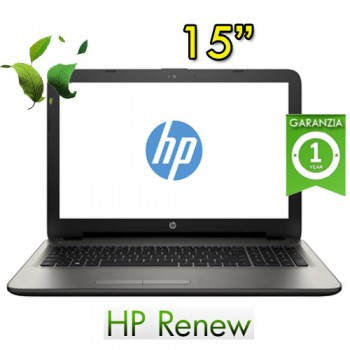 Notebook HP 15-ay057nl Pentium N3710 4Gb 500Gb 15.6' BV LED DVDRW Windows 10 HOME
