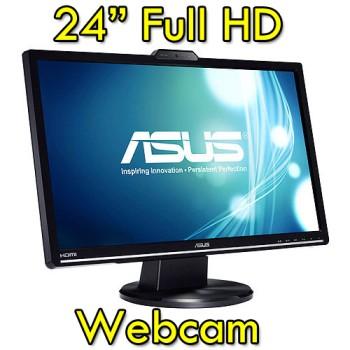 Monitor LCD 24 Pollici Asus VK248H Full HD LED 1920x1080 USB Black