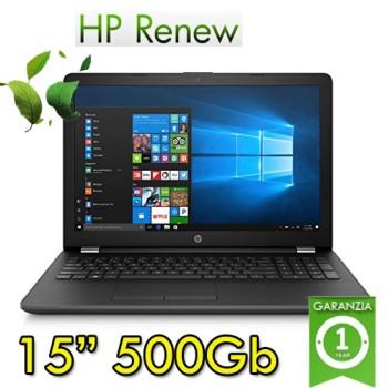 Notebook HP 15-bs039nl Intel Celeron N3060 4Gb 500Gb DVDRW 15,6' Windows 10 Home