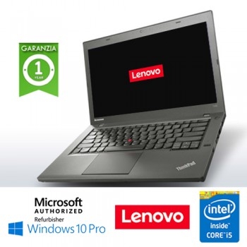 Notebook Lenovo Thinkpad T440 Core i5-4300U 8Gb 500Gb 14.1' Windows 10 Professional