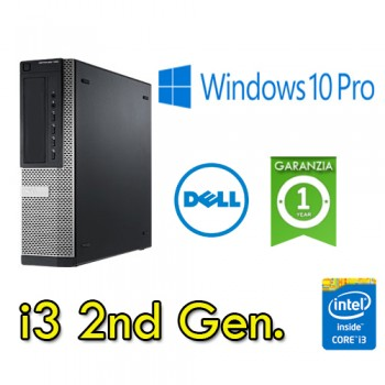 PC Dell Optiplex 3010 Core i3-2120 3.3GHz 4Gb 250Gb DVDRW Windows 10 Professional DESKTOP