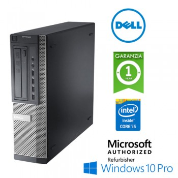 PC Dell Optiplex 9010 DT Core i5-3470 3.3GHz 4Gb 250Gb DVD Windows 10 Professional DESKTOP