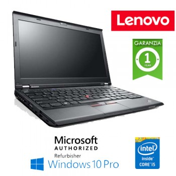 Notebook Lenovo ThinkPad X230 Core i5-3360 2.8GHz 4Gb 180Gb SSD 12.5' Windows 10 Professional