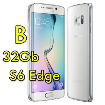 Smartphone Samsung Galaxy S6 Edge SM-G925F 5.1' FHD 4G 32Gb 16MP White Pearl [Grade B]