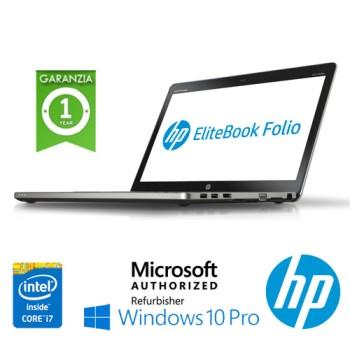 Notebook HP EliteBook Folio 9470M Core i7-3667U 2.0Ghz 4Gb 320Gb 14' HD Windows 10 Professional