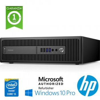 PC HP EliteDesk 800 G2 SFF Core i5-6500 3.2GHz 8Gb Ram 500Gb NO-ODD Windows 10 Professional