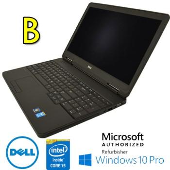 Notebook Dell Latitude E5540 Core i5-4200U 1.6GHz 4Gb 500Gb DVDRW 15.6' LED WEBCAM Windows 10 Pro  [GRADE B]