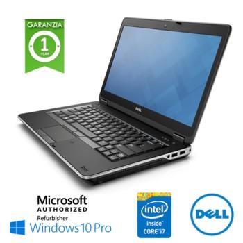 Notebook Dell Latitude E6440 Core i7-4600M 8Gb 320Gb 14.1' DVD-RW WEBCAM Windows 10 Professional