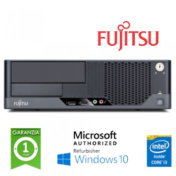 PC Fujitsu Esprimo E9900 Core i3-540 3.06GHz 4Gb Ram 250Gb no ODD Windows 10 HOME