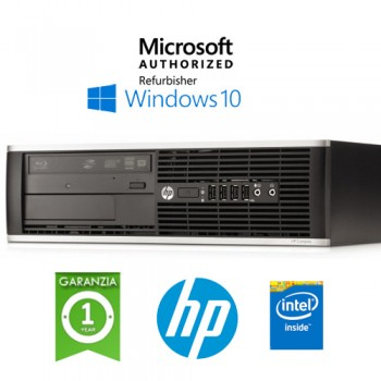 PC HP Compaq 6300 Pro Intel G2130 3.2GHz 4Gb Ram 500Gb DVDRW Windows 10 HOME