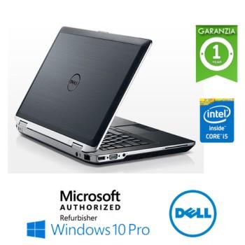 Notebook Dell Latitude E6430 Core i5-3380M 2.9GHz 8Gb Ram 320Gb 14.1' DVDRW Windows 10 Professional