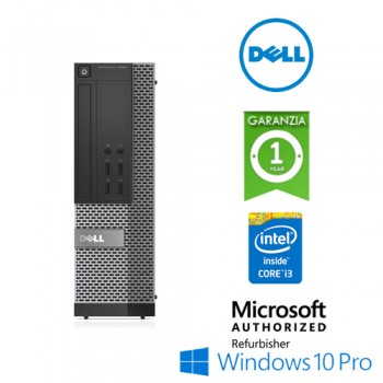 PC Dell Optiplex 7020 SFF Core i3-4160 3.6GHz 4GB 500Gb DVD-RW Windows 10 Professional