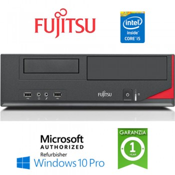 PC Fujitsu Esprimo E520 E85+ Core i5-4440 3.3GHz 4Gb Ram 250Gb noODD Windows 10 Professional
