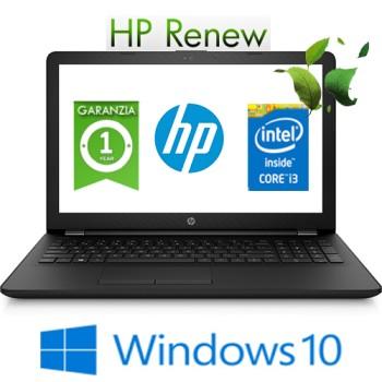 Notebook HP 15-bs086nl Intel Core i3-6006U 8Gb 1Tb 15.6' BV LED Windows 10 HOME