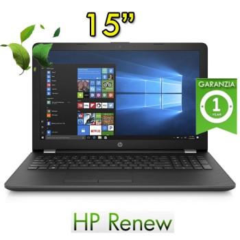 Notebook HP 15-bs524nl Intel Core i3-6006U RAM 8GB HDD 500GB 15.6' BV LED Windows 10 HOME